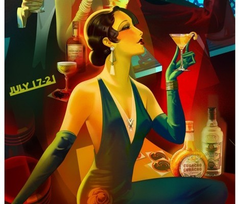 Tales of the Cocktail® poster by Robert Rodriguez